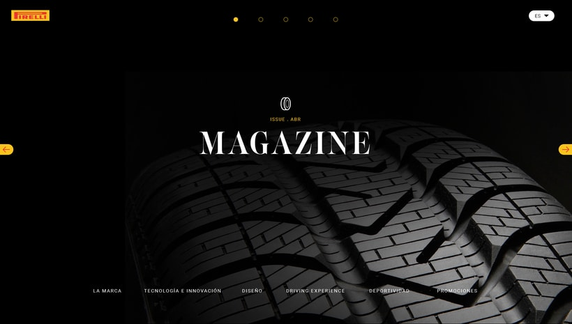 Pirelli MAGAZINE -1