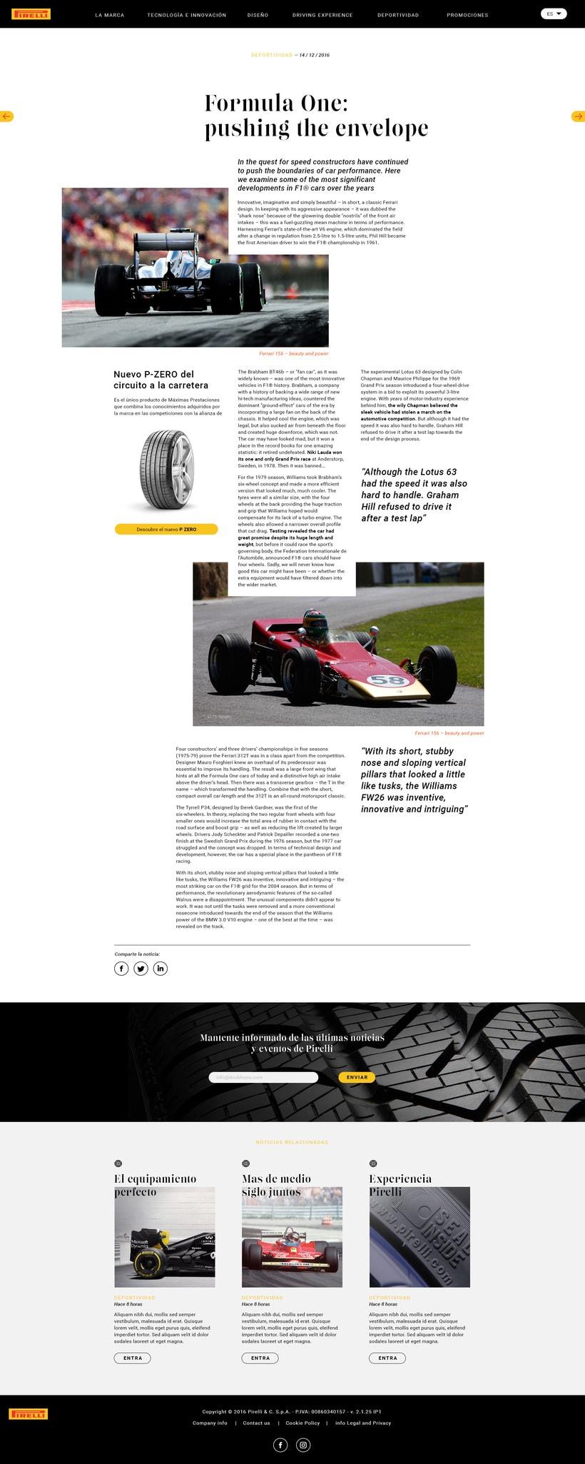 Pirelli MAGAZINE 3