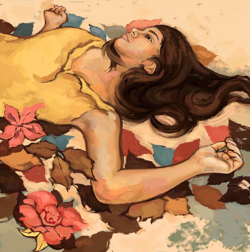 María y su libro amarillo (illustrated book)  0