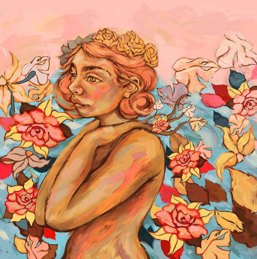 María y su libro amarillo (illustrated book)  1