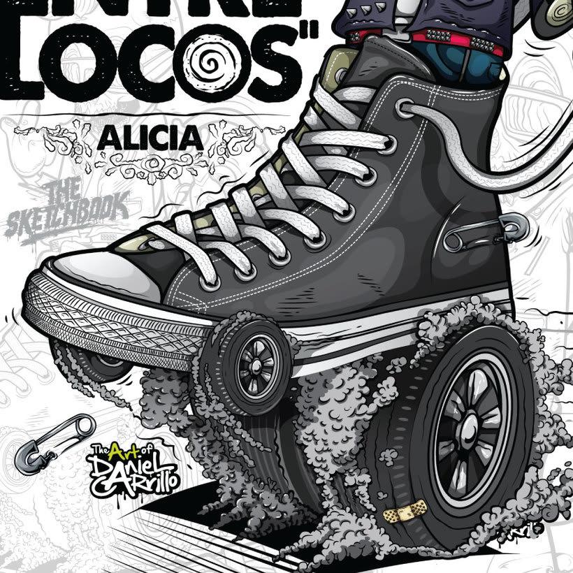 """""""No/ quiero caminar entre locos"""" Alicia. 3"""