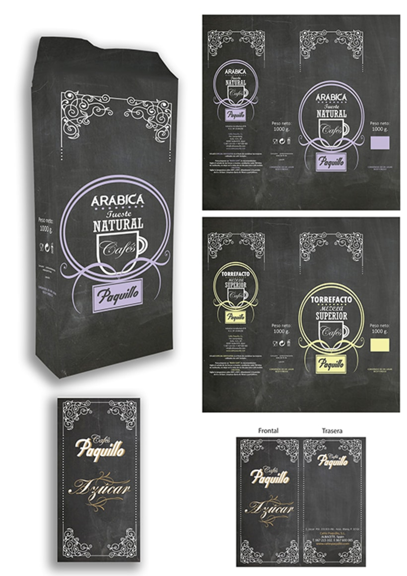 Packaging Café y Azúcar 11