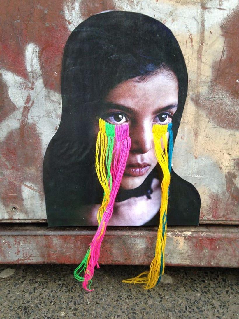 El arte urbano textil con aire mexicano de Victoria Villasana 1