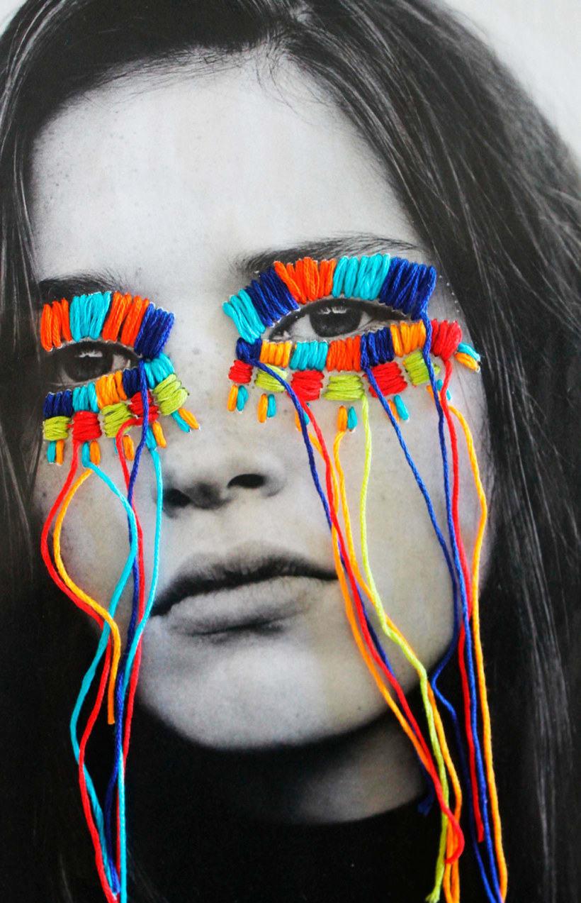 El arte urbano textil con aire mexicano de Victoria Villasana 3