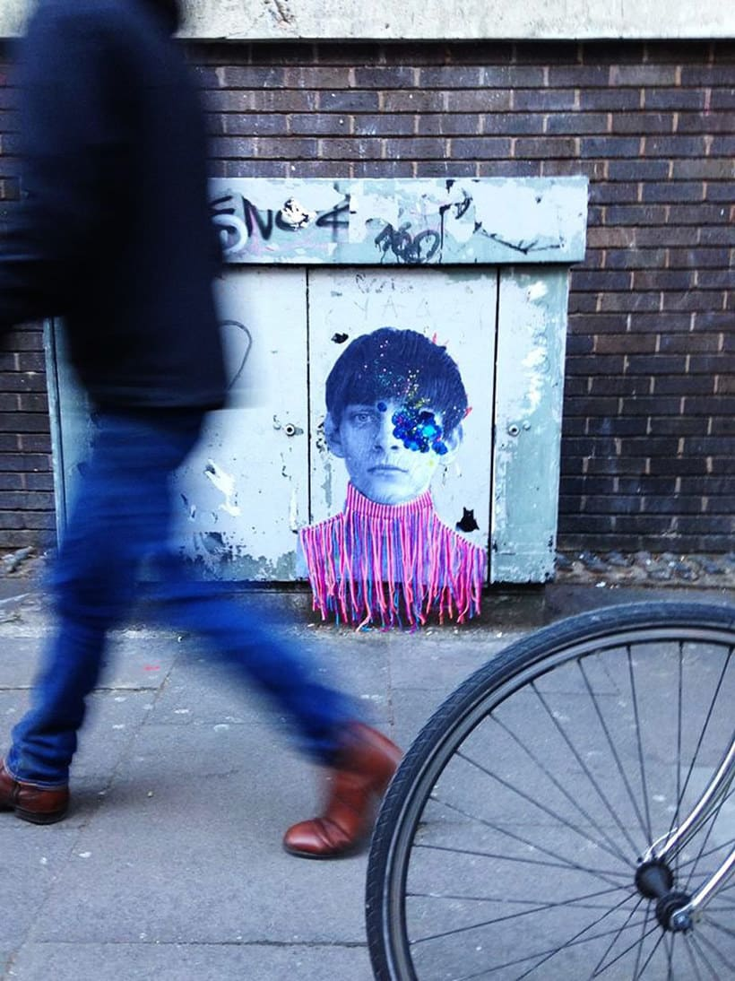 El arte urbano textil con aire mexicano de Victoria Villasana 5