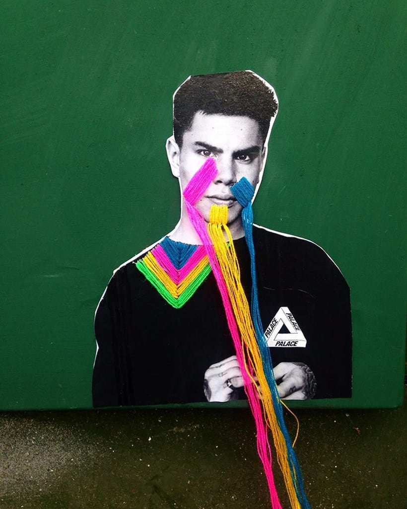 El arte urbano textil con aire mexicano de Victoria Villasana 8