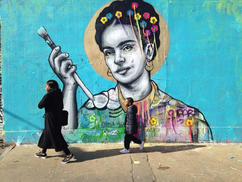 El arte urbano textil con aire mexicano de Victoria Villasana 18
