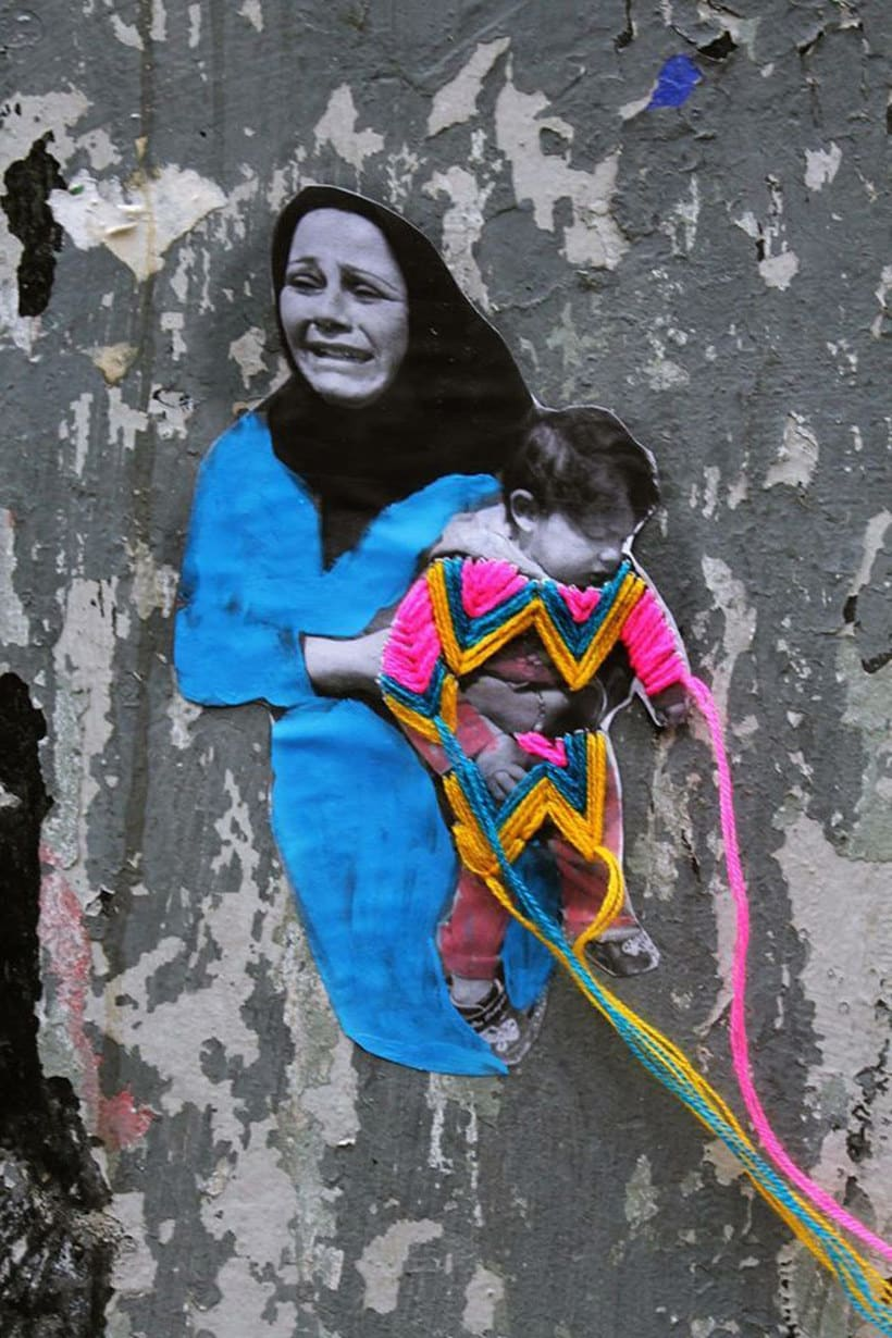 El arte urbano textil con aire mexicano de Victoria Villasana 21