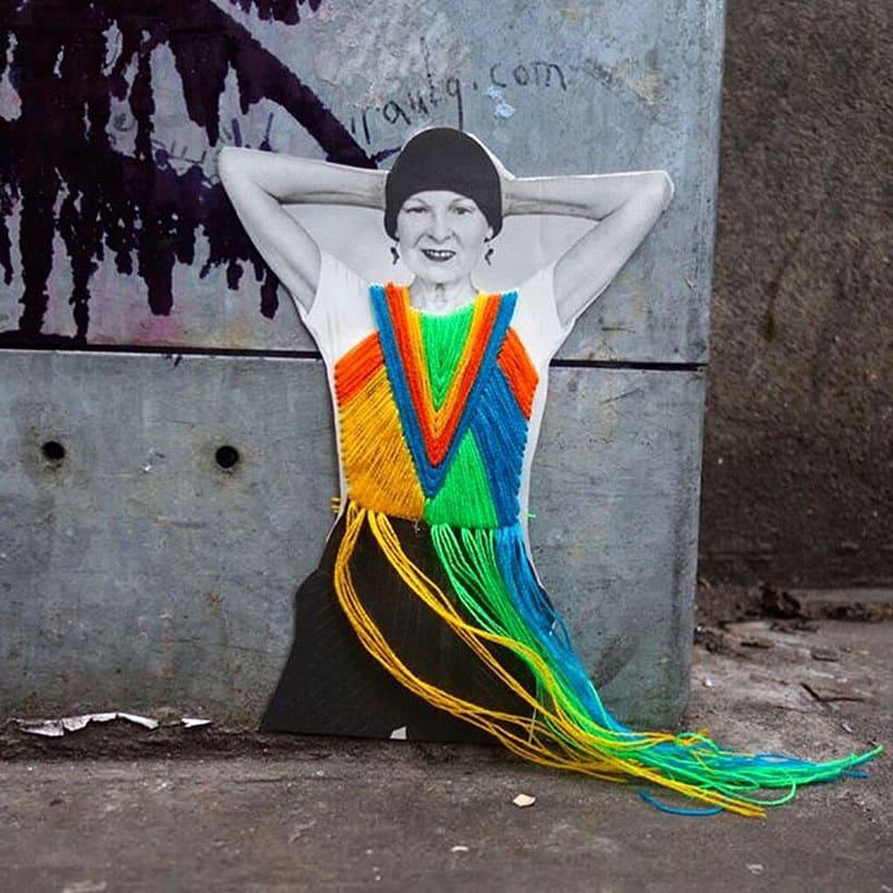 El arte urbano textil con aire mexicano de Victoria Villasana 22