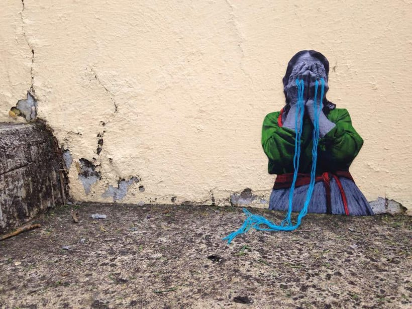 El arte urbano textil con aire mexicano de Victoria Villasana 23