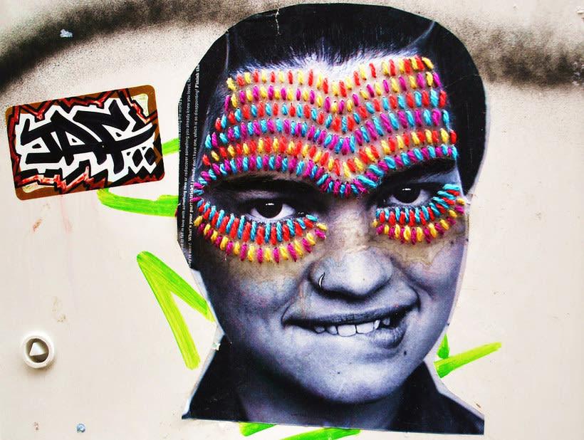 El arte urbano textil con aire mexicano de Victoria Villasana 24