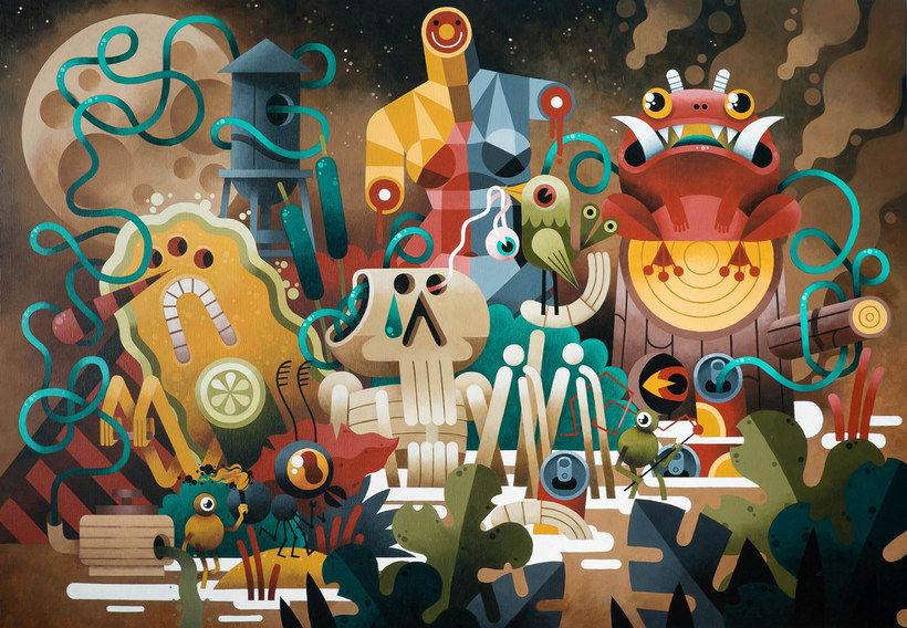 Los locos mundos ilustrados de Zeptiror 1
