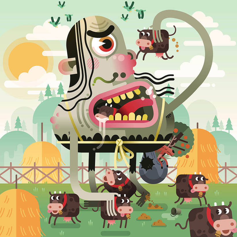 Los locos mundos ilustrados de Zeptiror 3
