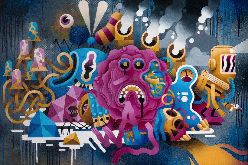 Los locos mundos ilustrados de Zeptiror 5