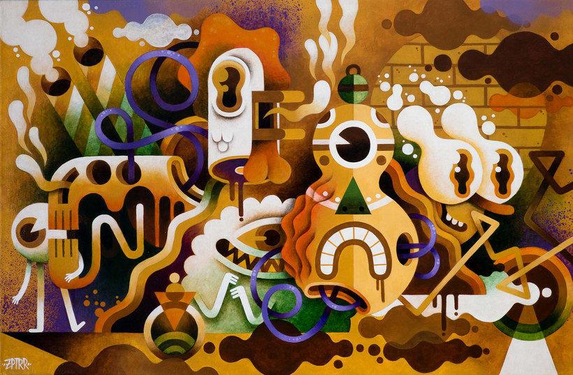 Los locos mundos ilustrados de Zeptiror 6