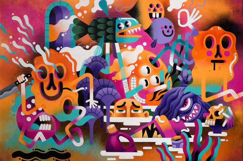 Los locos mundos ilustrados de Zeptiror 10