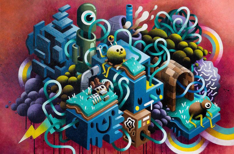 Los locos mundos ilustrados de Zeptiror 12