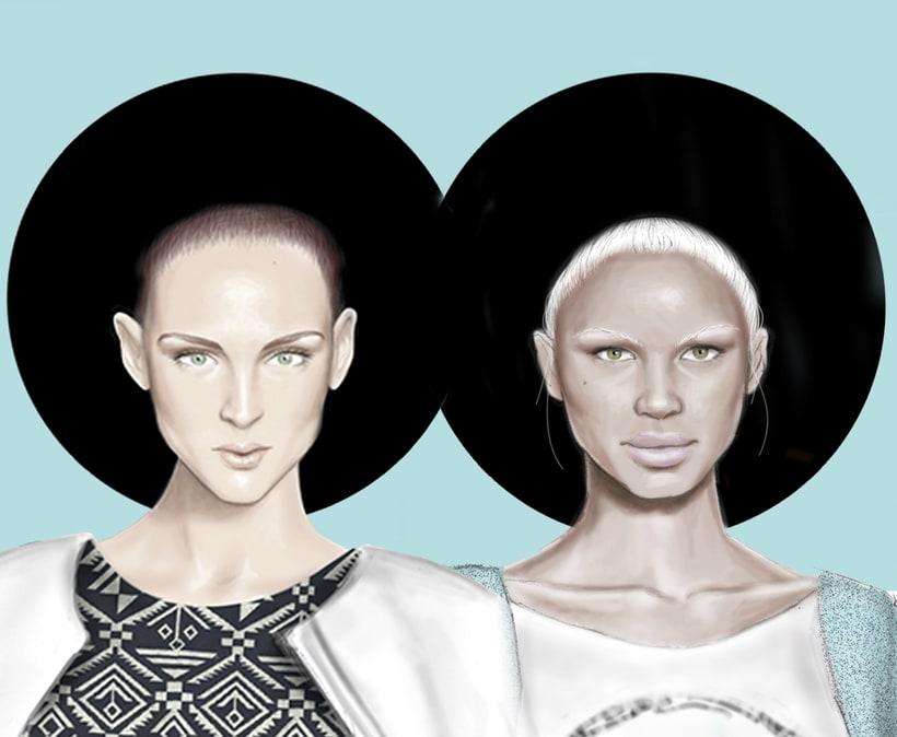 Ilustración Moda H&M 1