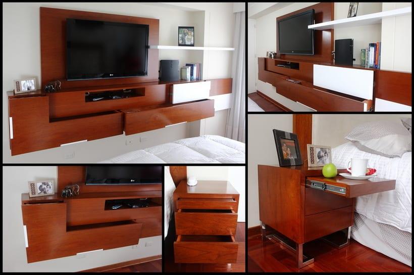 Muebles de Dormitorio Matrimonial 0