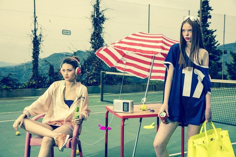 Kitsch - Fashion shoot for Nicolas Bets 2