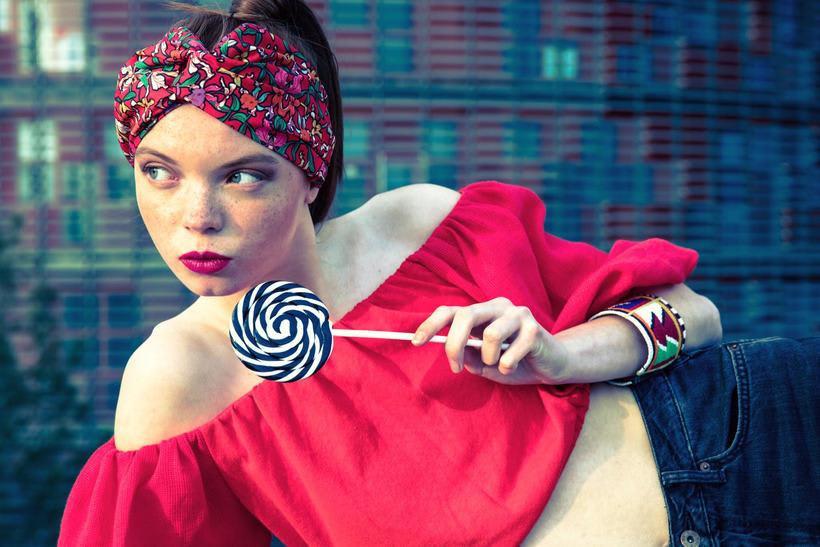 Kitsch - Fashion shoot for Nicolas Bets 0