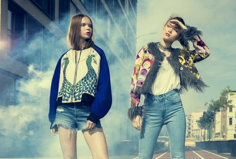 Kitsch - Fashion shoot for Nicolas Bets 1