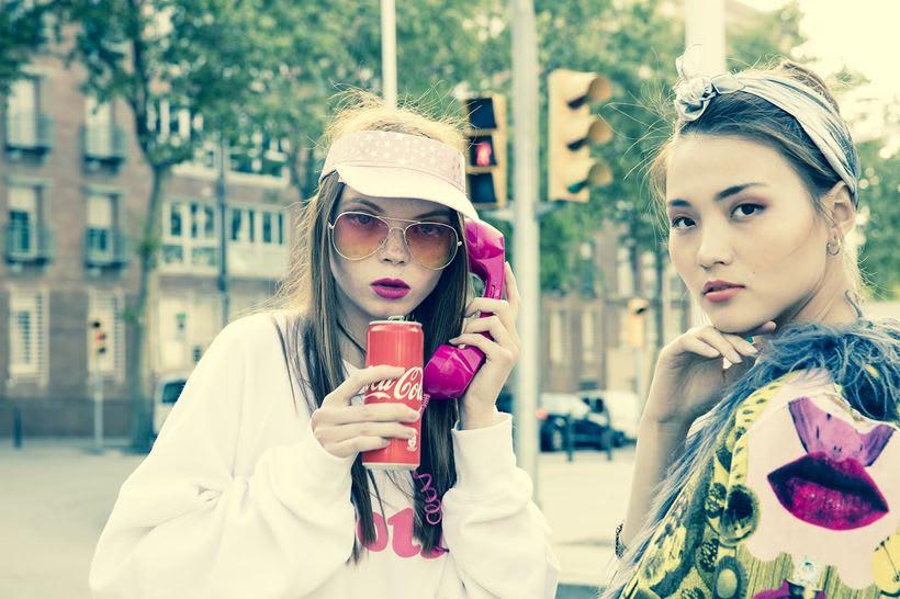 Kitsch - Fashion shoot for Nicolas Bets 3