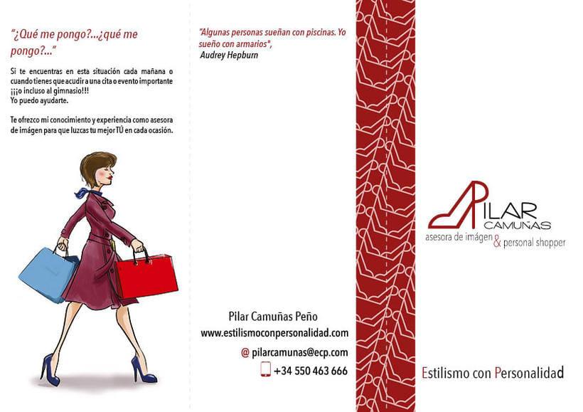 folleto y tarjetas de visita 0