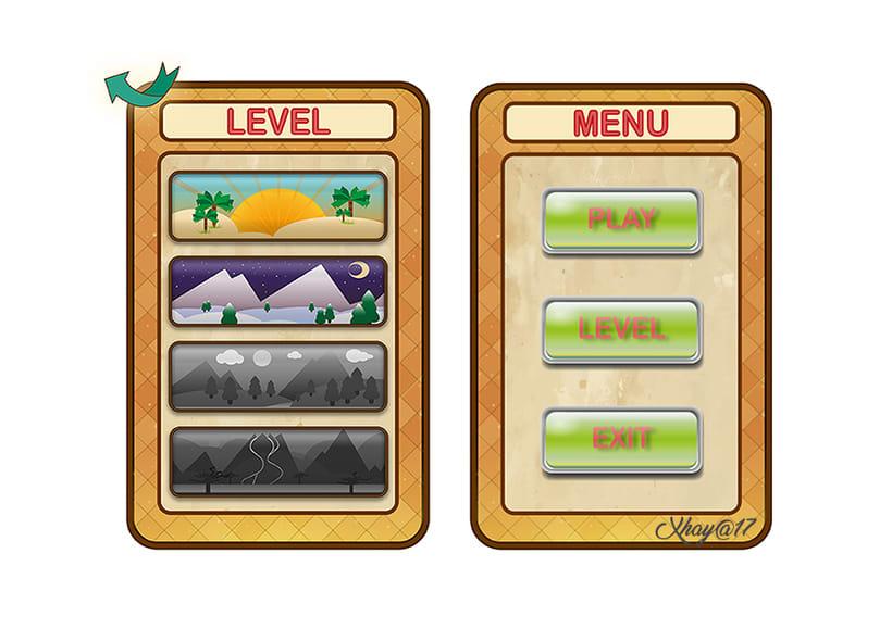 "UI Game ""Las Aventuras de Sojoraan""  -1"