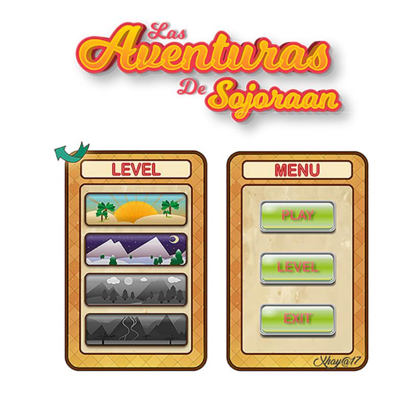 "UI Game ""Las Aventuras de Sojoraan""  0"