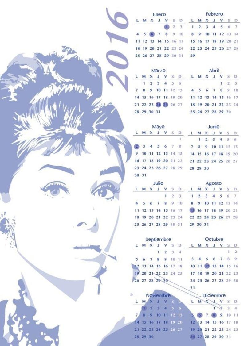 Calendarios 2016 2