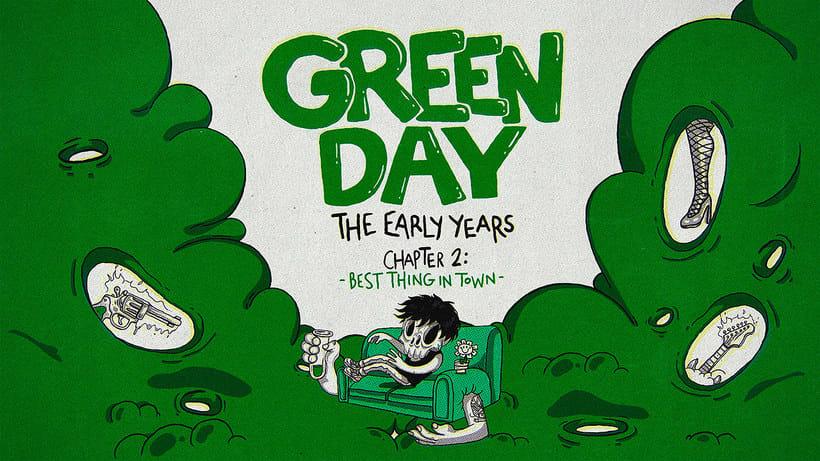 Los comienzos de Green Day en formato animado 3