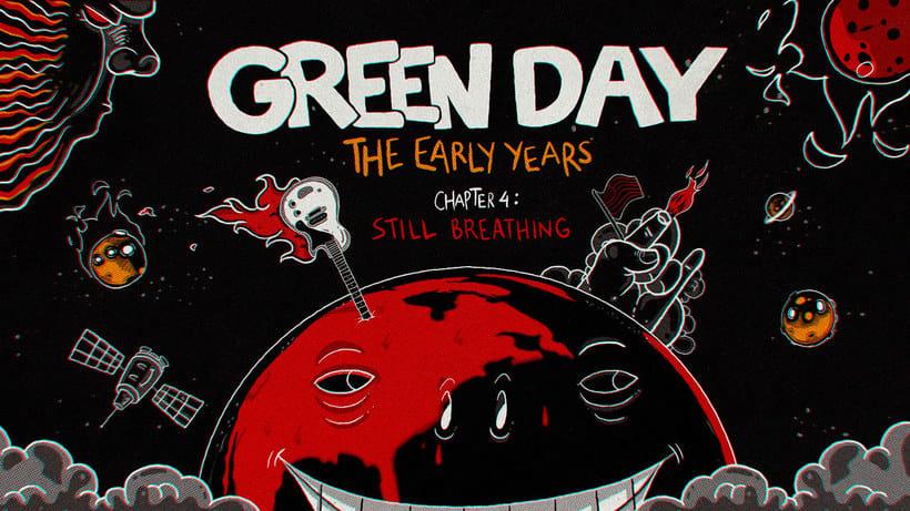 Los comienzos de Green Day en formato animado 9