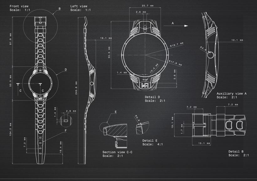 Diseño Conceptual Smartwatch URO 7