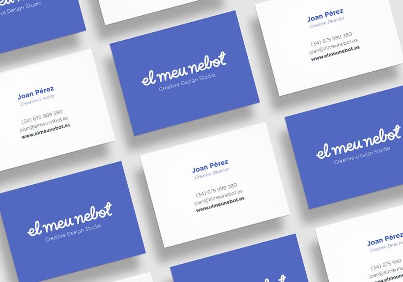 Identity - El Meu Nebot Creative Design Studio 2