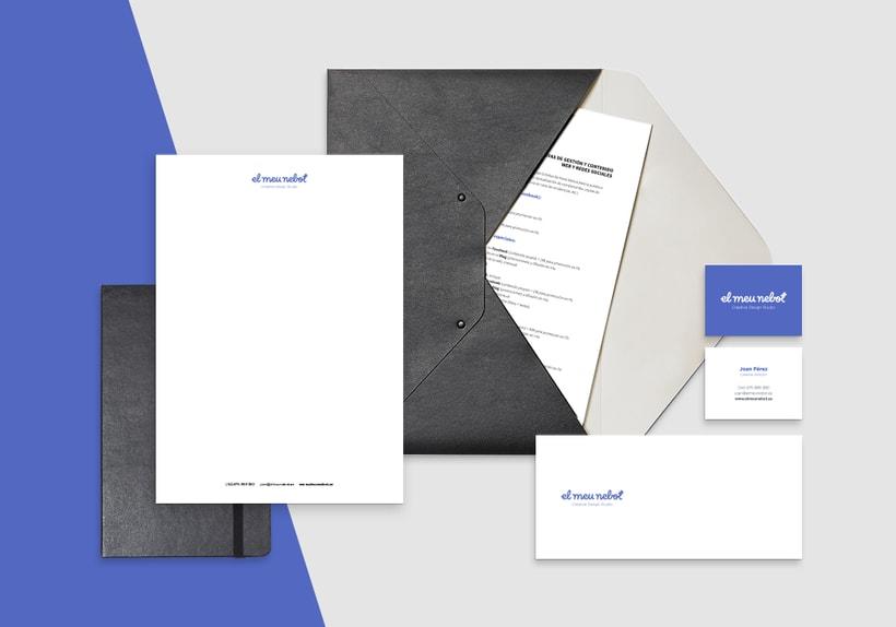 Identity - El Meu Nebot Creative Design Studio 3