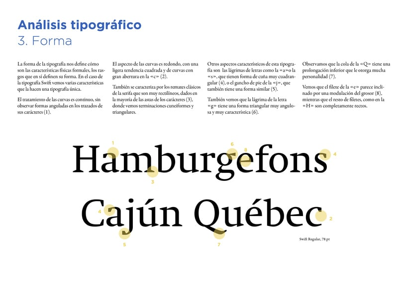 Type Study: Swift by G. Unger (Student Project) 7