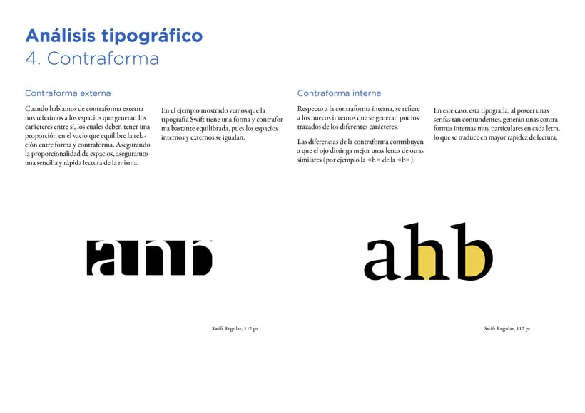 Type Study: Swift by G. Unger (Student Project) 8