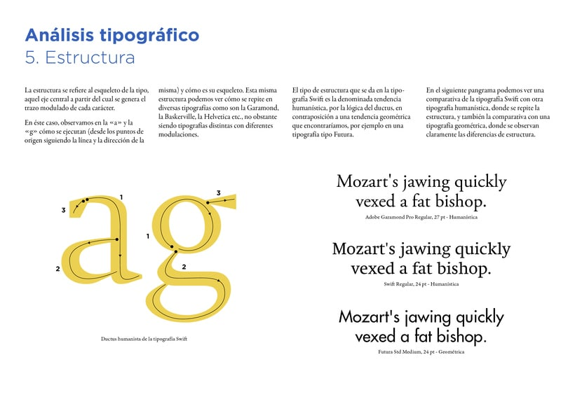 Type Study: Swift by G. Unger (Student Project) 9