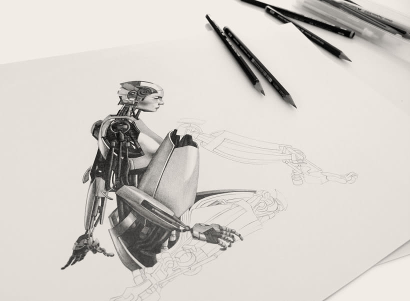 Drawing Portfolio (Student Project) 0