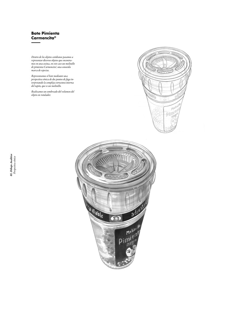 Drawing Portfolio (Student Project) 5