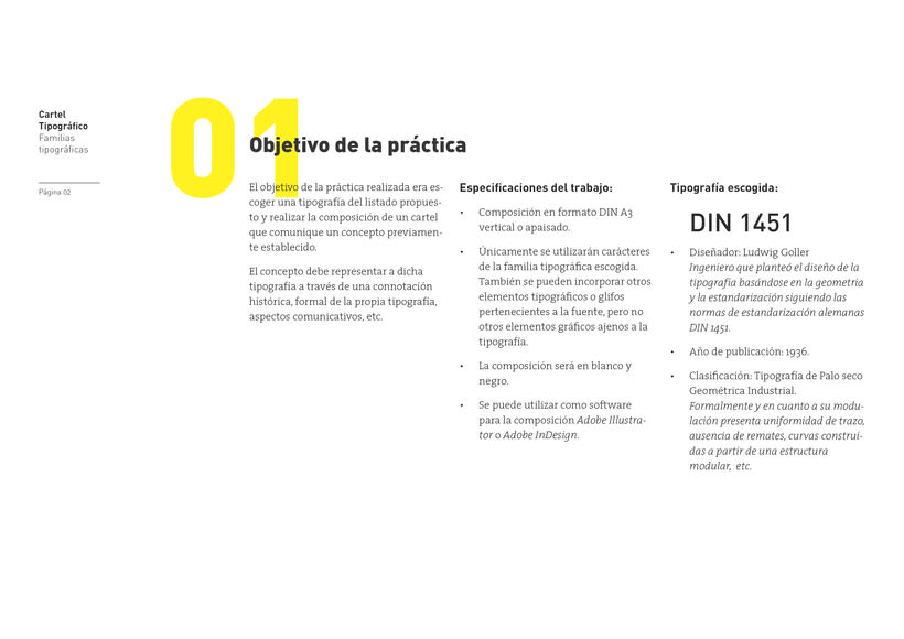 Type Poster: DIN 1451 (Student Project) 0