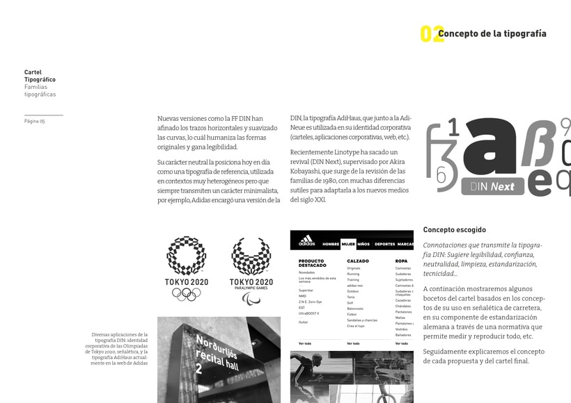 Type Poster: DIN 1451 (Student Project) 3