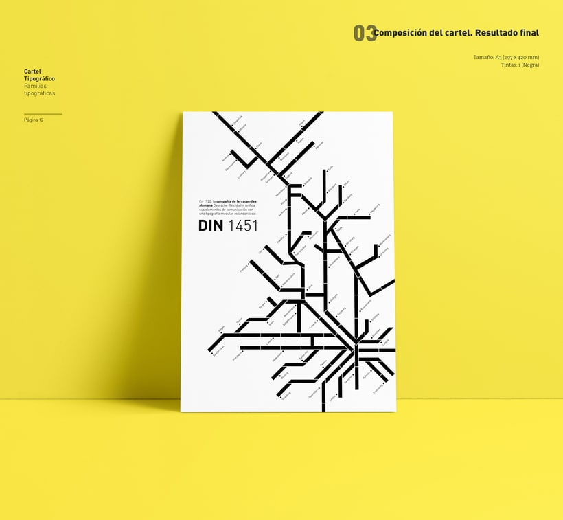 Type Poster: DIN 1451 (Student Project) 7