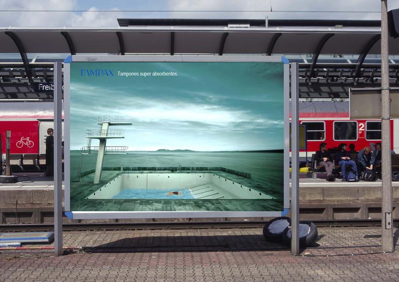 Idea creativa y Proyecto campaña Tampax 0