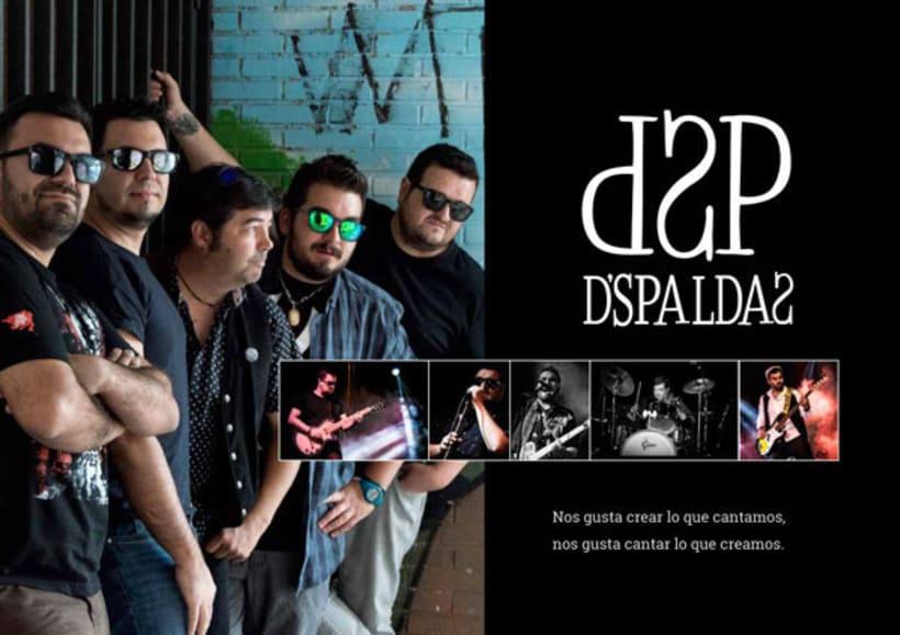 Dossier promocional del grupo Dspaldas 2