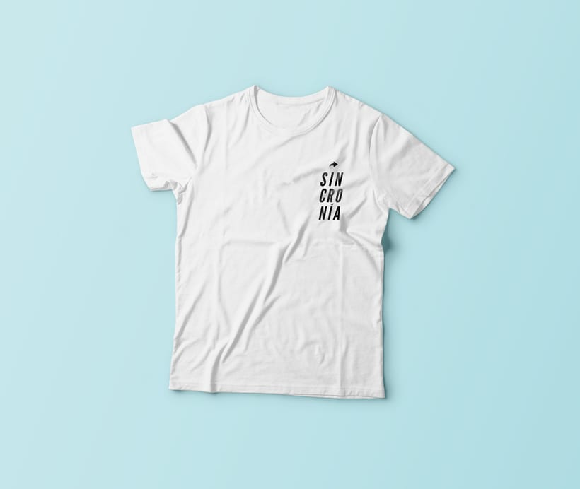 Camisetas Sincronía 2017 0