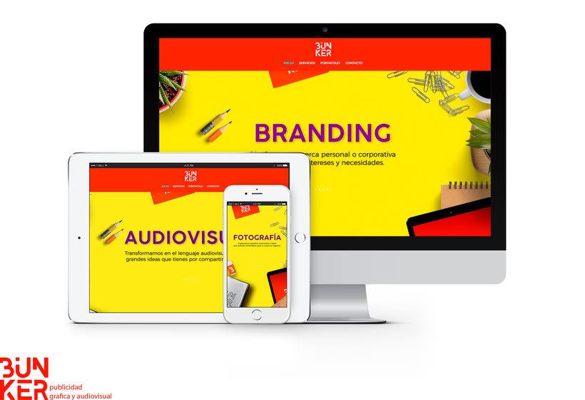 Bunker página web dedica a contenido gráfico y audiovisual  www.bunker.net.co -1