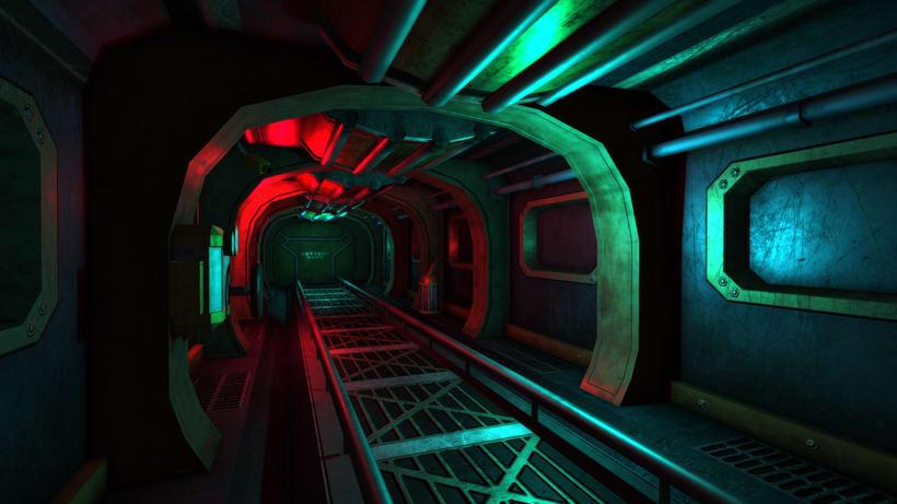 Entorno 3D - Nave espacial -1