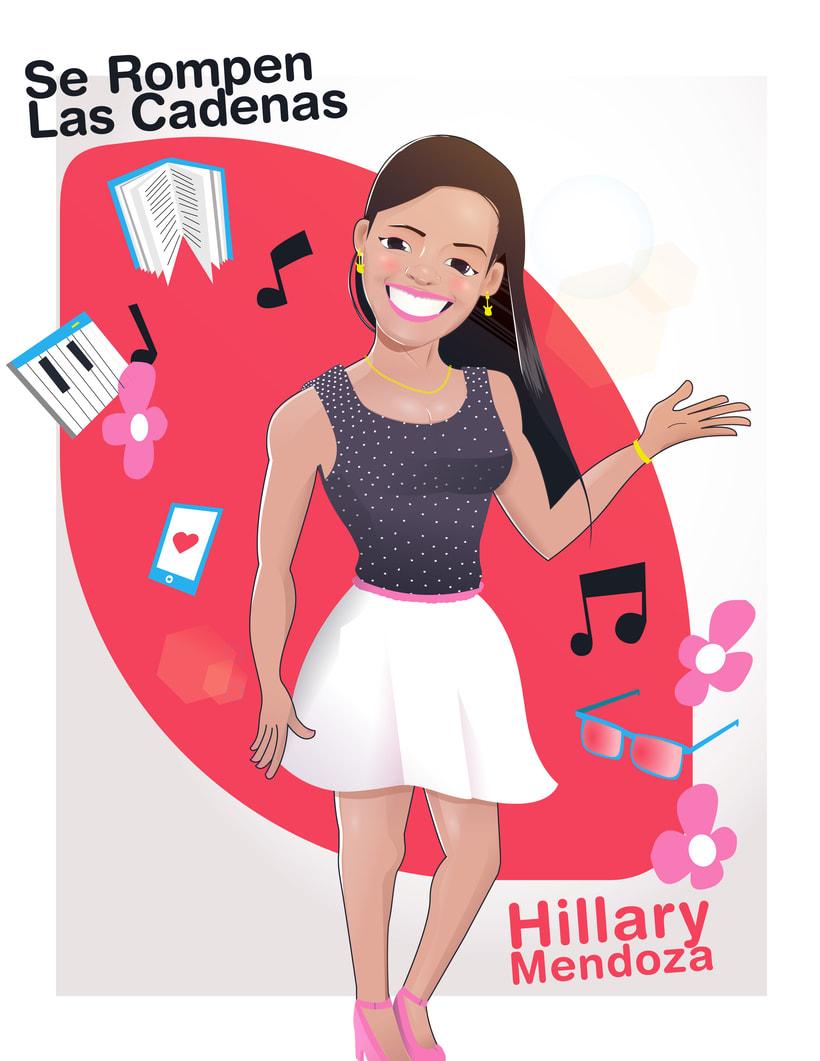 Ilustración Vectorial | Hillary -1
